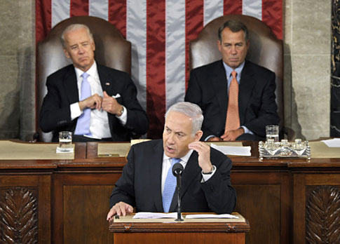 Netanyahu in Congress
