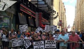 NYC rally against Iran deal