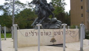 Australian Soldier Park, in Beersheba, Israel, dedicated to the memory of the Australian Light Horse regiments. Wikimedia Commons